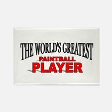 """""""The World's Greatest Paintball Player"""" Rectangle"""