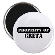 Property of Greta Magnet