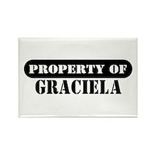 Property of Graciela Rectangle Magnet