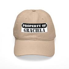 Property of Graciela Baseball Cap