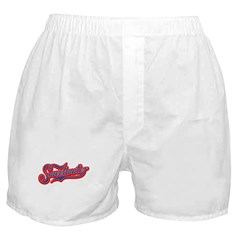 Sweetwater Red/Blue Boxer Shorts