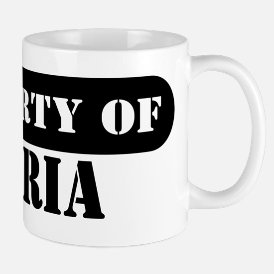 Property of Gloria Mug