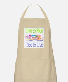 Live to Ride BBQ Apron