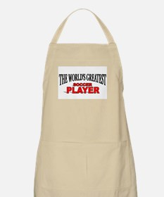 """""""The World's Greatest Soccer Player"""" BBQ Apron"""