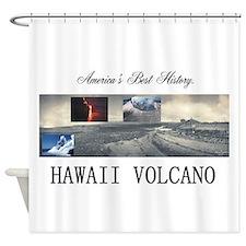 ABH Hawaii Volcanoes Shower Curtain