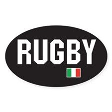 Ireland rugby Oval Decal