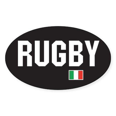 Ireland rugby Oval Sticker
