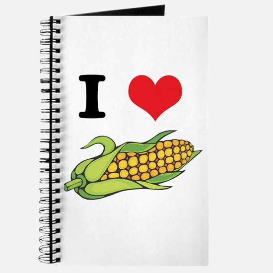 I Heart (Love) Corn (On the Cob) Journal