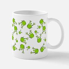 Little Green Frogs Mug
