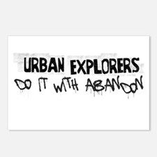 Urban Explorer Postcards (Package of 8)