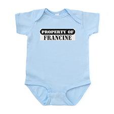 Property of Francine Infant Bodysuit