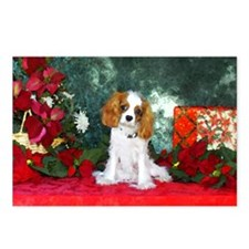 Cavalier King Charles Spaniel Christmas Postcards