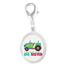 I am going to be a Big Sister - Tractor Charms