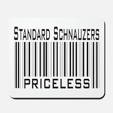 Standard Schnauzers -- new items Mousepad