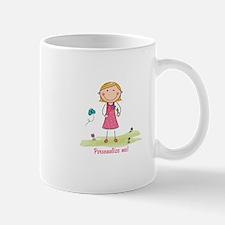 Cute girl - personalize Mug