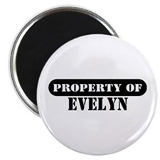 Property of Evelyn Magnet