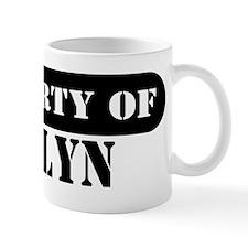 Property of Evelyn Mug