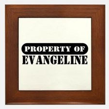 Property of Evangeline Framed Tile