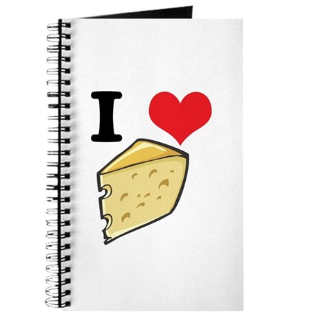 I Heart (Love) Cheese Journal