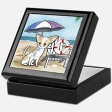 Chihuahua Tourist #5 Keepsake Box