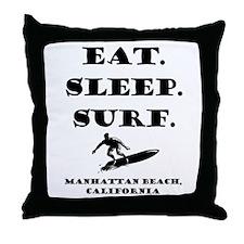 Manhattan Beach, California: Throw Pillow