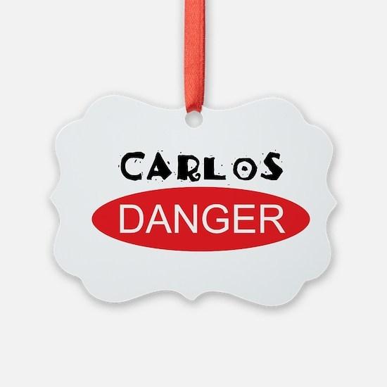 Carlos Danger - Anthony Weiner Ornament
