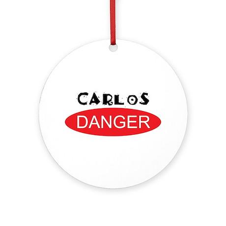Carlos Danger - Anthony Weiner Ornament (Round)