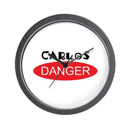 Carlos Danger - Anthony Weiner Wall Clock