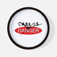 Carlos Danger - Anthony Weiner Wall Clock