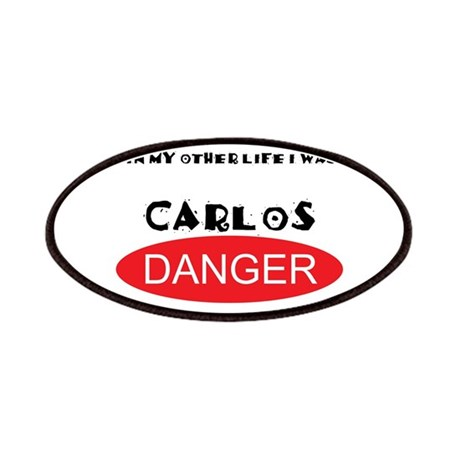 In My Other Life I Was Carlos Danger Patches