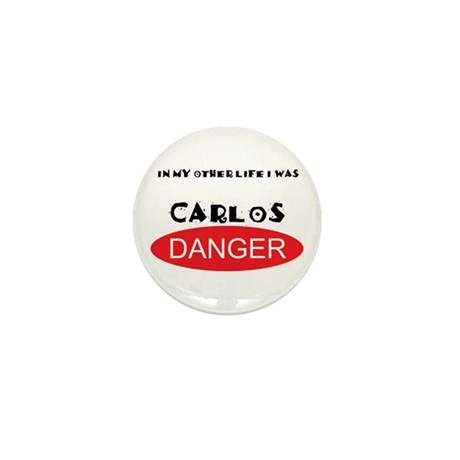 In My Other Life I Was Carlos Danger Mini Button (