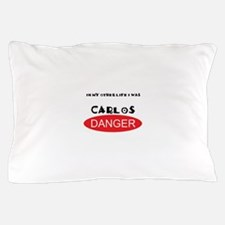 In My Other Life I Was Carlos Danger Pillow Case