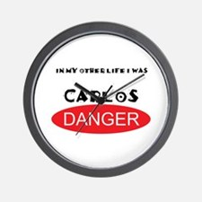 In My Other Life I Was Carlos Danger Wall Clock