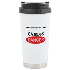 In My Other Life I Was Carlos Danger Travel Mug