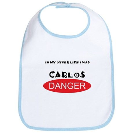 In My Other Life I Was Carlos Danger Bib