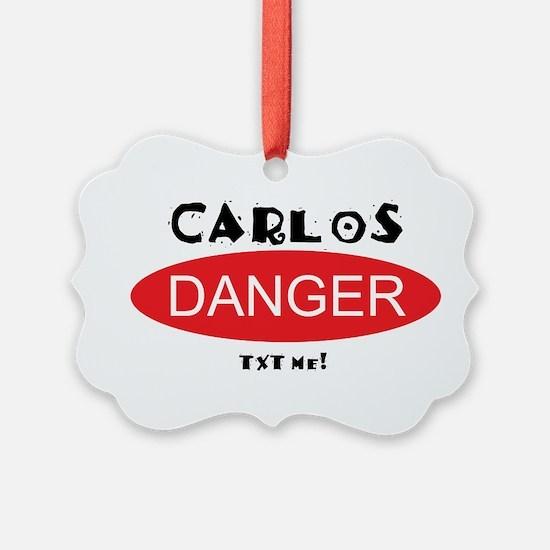 Carlos Danger Txt Me Ornament