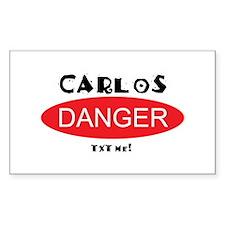 Carlos Danger Txt Me Decal