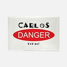 Carlos Danger Txt Me Rectangle Magnet