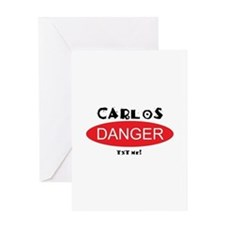 Carlos Danger Txt Me Greeting Card