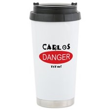 Carlos Danger Txt Me Travel Mug