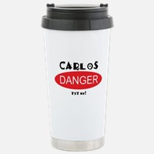 Carlos Danger Txt Me Travel Mug