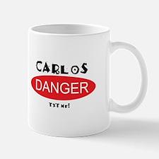 Carlos Danger Txt Me Mug
