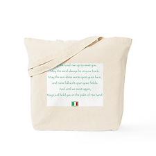 Irish blessing tote bagTote Bag