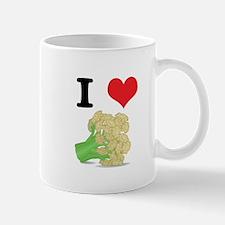 I Heart (Love) Cauliflower Mug