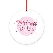 Dulce Ornament (Round)