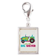 I am the Big Sister - Tractor Silver Portrait Char