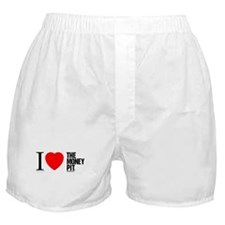 'I (Heart) The Money Pit'  Boxer Shorts