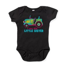 I am the Big Sister - Tractor Baby Bodysuit