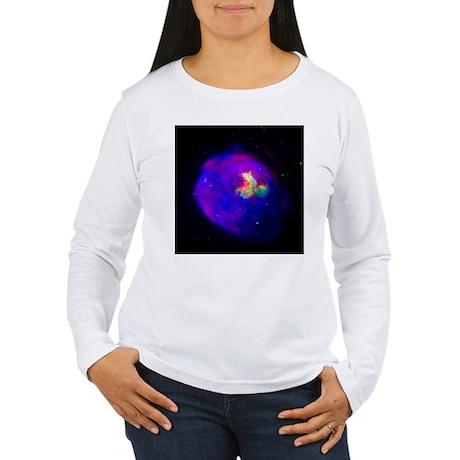 Supernova Remnant Women's Long Sleeve T-Shirt