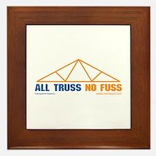 'All Truss, No Fuss'  Framed Tile